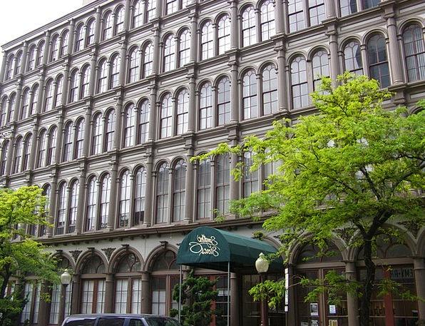 Cast-Iron Buildings Buildings Certain Architecture