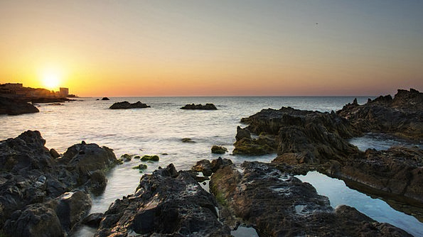 Costa Del Sol Vacation Dawn Travel Sea Marine Sunr