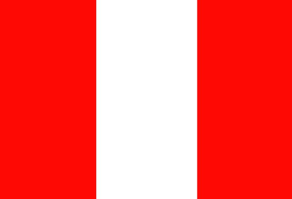 Peru Standard Symbol Sign Flag Country Republic So