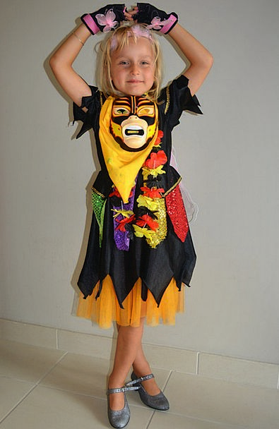 Child Youngster Lassie Dress Up Disguise Girl Carn