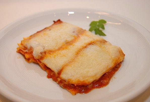 Lasagna Main Course Noodle Dish Italian