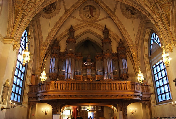 Church Ecclesiastical Structures Balcony Circle Or