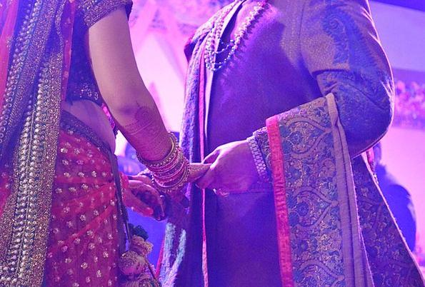 Wedding Bridal Indian Hindu Wedding Marriage Nupti