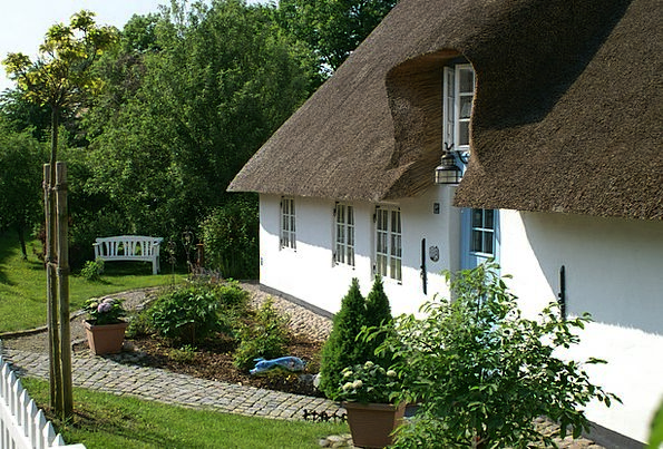 Bargum Nordfriesland Thatched Roof
