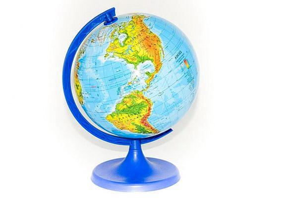 Globus Soil World Biosphere Earth Geography Topogr