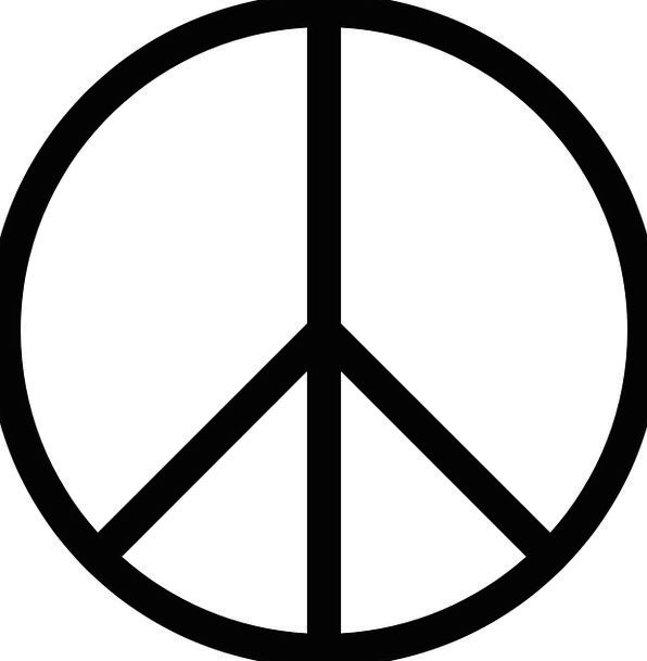 Peace Concord Agreement Peace Sign Harmony Disarmament World