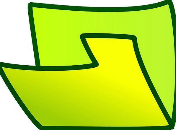 Folder Binder Finance Exposed Business Green Lime