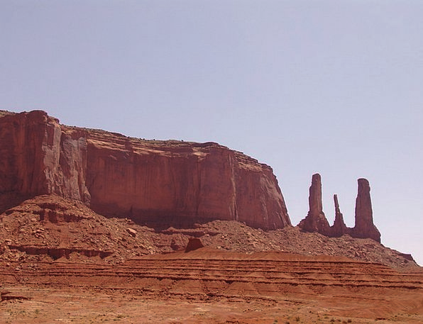 Monument Valley Landscapes Pillar Nature Mountain