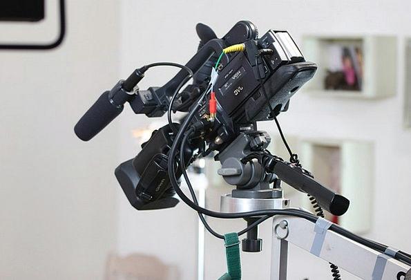 Camera Lens Video Camera Sound Recording Technolog