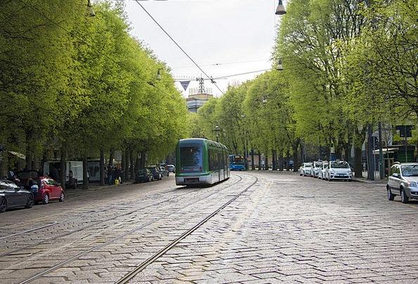 Milan Traffic Transportation Street Road Tram Ital