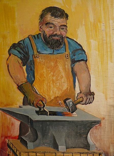 Blacksmith Craft Skill Industry Profession Occupat