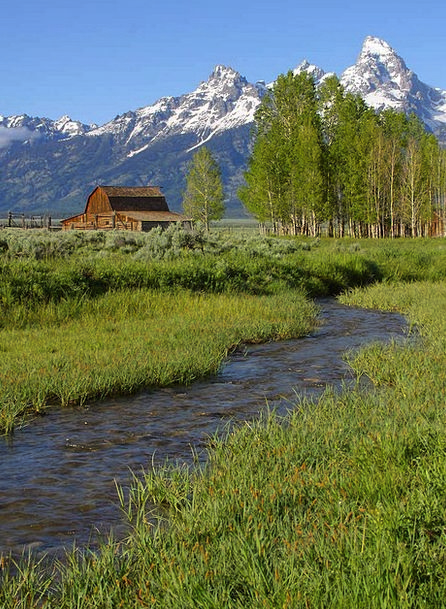Grand Teton National Park Landscapes Nature Wyomin