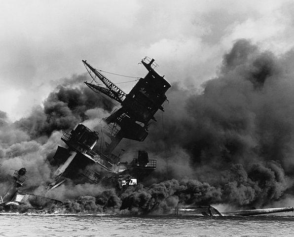 Pearl Harbor Vessel Warship Ship Bb 39 Destroyed D
