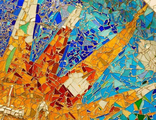 Park Güell Mosaic Medley Gaudí Barcelona