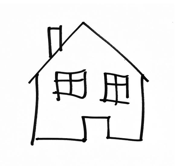Drawing Sketch Buildings Home-based Architecture B