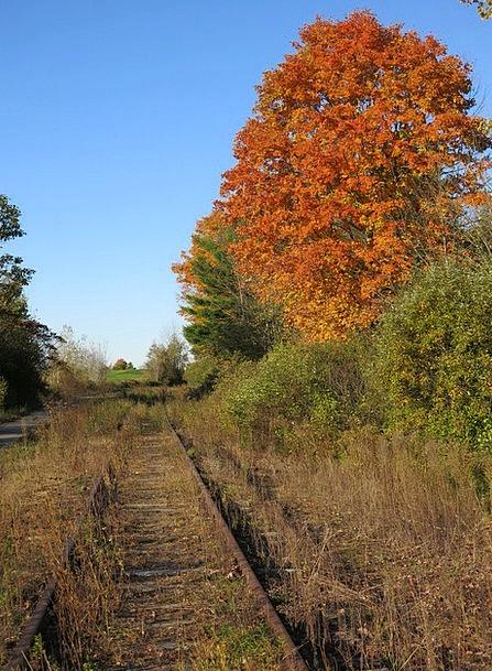 Railroad Path Train Pullman Track Railway Abandone