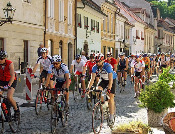 Bicycle Bike Buildings Lengthy Architecture Alps M