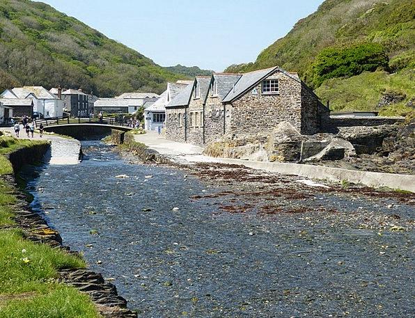 Cornwall Village Community Boscastle Settlement En