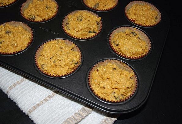Muffins Baking Sweltering Pumpkin