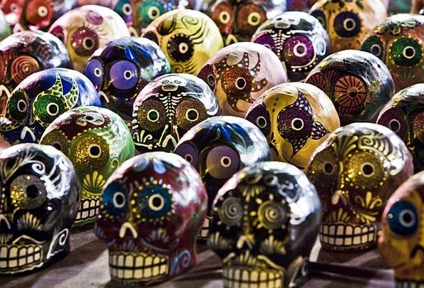 Sugar Skulls Ethos Painting Image Culture Skulls M