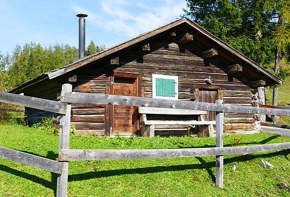 Hut Shed Log Cabin Alpine Hut Wood Timber Alm