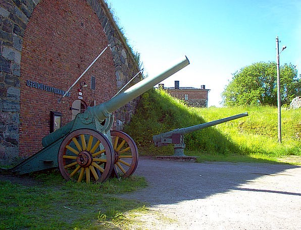 Old Ancient Museum Gallery Coastal Guns Guns Weapo