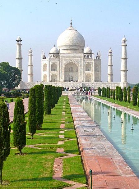 Taj Mahal Buildings Architecture Agra India Tomb C