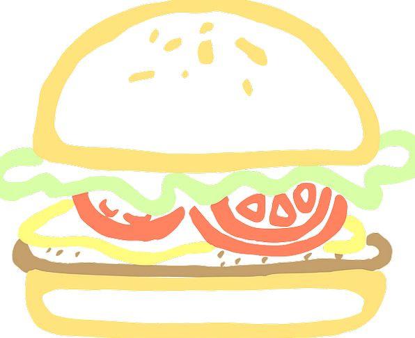 Hamburger Drink Nourishment Food Burger Food Tomat