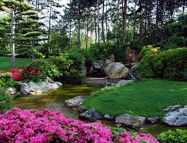 Landscape Scenery Landscapes Nature Ornamental Gar