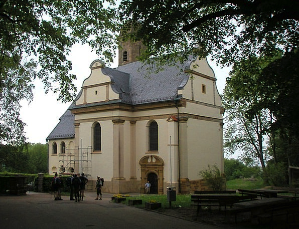 Pilgrimage Church Of St Mary Hohenrechberg St Mary