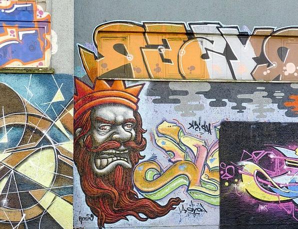 Graffiti Drawings Traffic Road Transportation Art