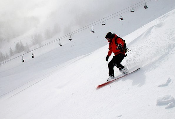 Snowboarding Season Snow Snowflake Winter Snowboar