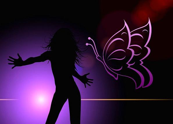 Woman Lady Fashion Ball Beauty Disco Bop Dance Liv