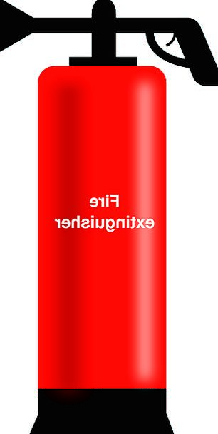 Fire Passion Red Bloodshot Extinguisher Foaming Ef