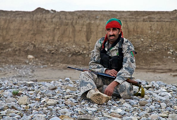 Fighter Combatant Armament Afghani Weapon Soldier