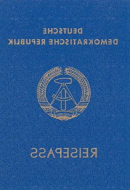 Passport ID Ddr Lack Of Article Once Yesterday Yes