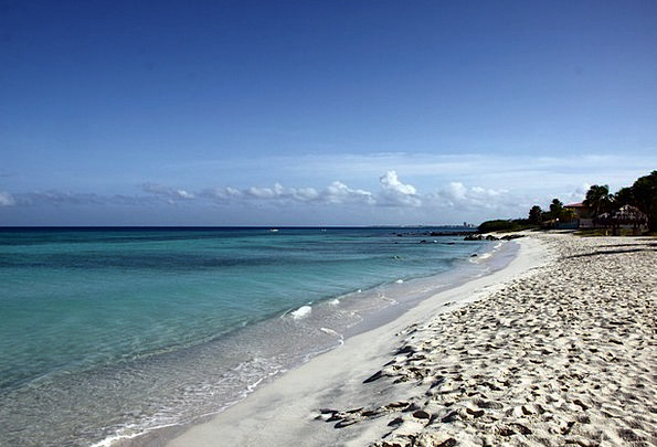 Beach Seashore Vacation Travel Sand Beach Aruba Ba
