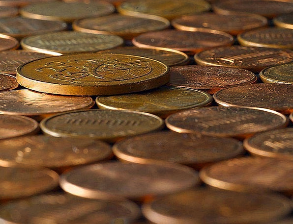 Copper Finance Currencies Business Penny Currency