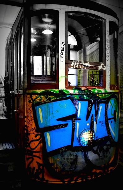 Funicular Traffic Transportation Portugal Lisbon E