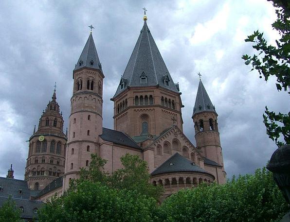 Mainz Church Ecclesiastical Dom