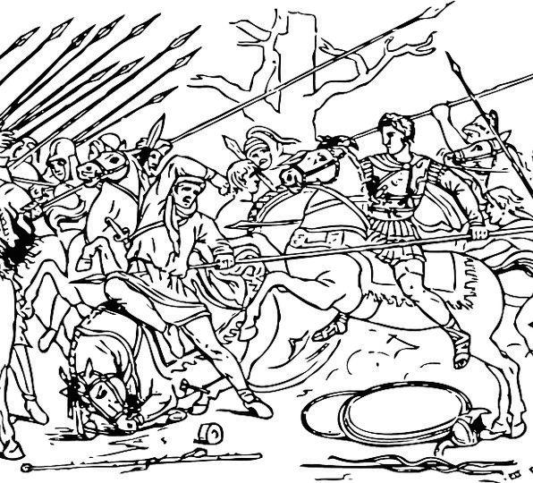 Alexander The Great Fight War Conflict Battle Infa