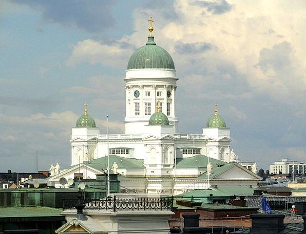 Helsinki Cathedral Finland Landmark Church Ecclesi