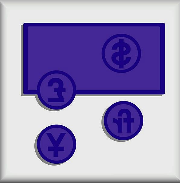 American Dollar Symbol Japanese Yen Symbol British
