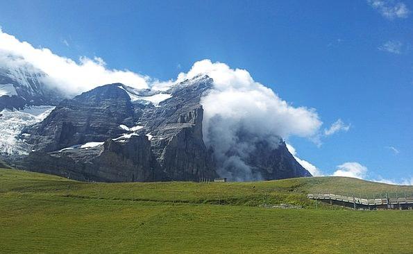 Eiger North Wall Eiger North Face Switzerland Klei