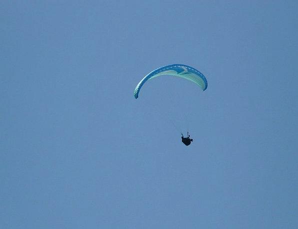 Paraglider Fly Hover Paragliding Sport Diversion S