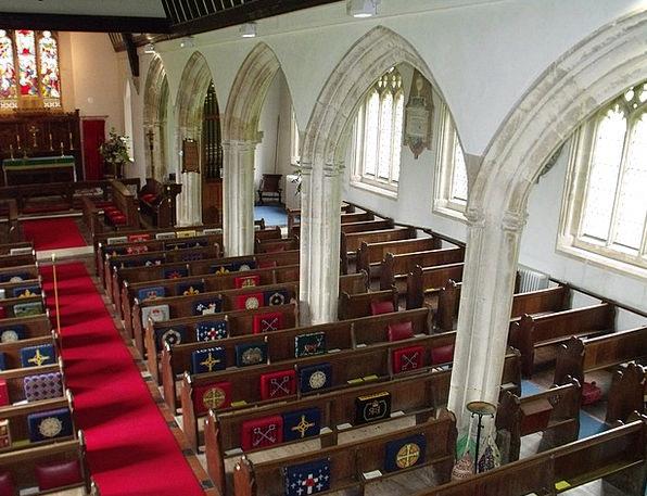St George'S Morebath Ecclesiastical Interior Inner