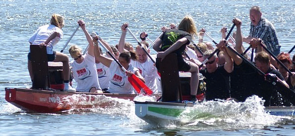 Dragon Boat Gumboot Water Sports Boot Competition