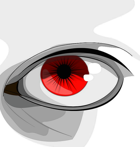 Eyes Judgments Bloodshot Human Humanoid Red Colorf