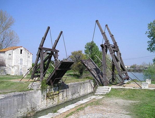 Bridge Bond Arles Camargue Bridge Van Gogh Monumen