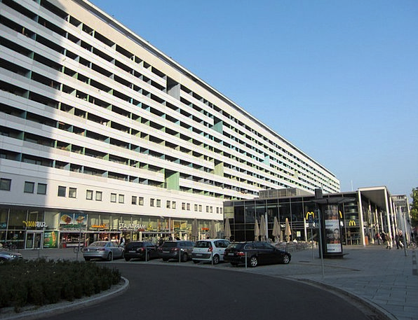 Prefab Buildings Architecture Dresden Ddr City Urb